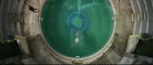 gatsby set interiors - the round pool with JG written in the center.PNG